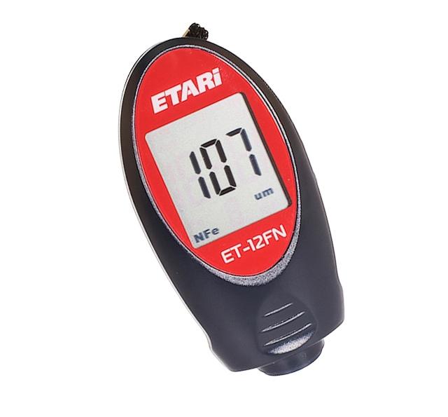 Miernik grubości powłok lakierniczych ETARI ET 12-FN